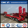 Three-Line Lowbed Semi-Trailer with Concave Beam
