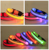 Flashing LED Growing Dog Safety Collars