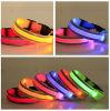 Flashing LED Growing Dog Safety Collars