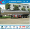 3 Axles Fuel Tank Stainless Steel Oil Tank Trailer