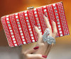 2015 New Designer Handbag Luxury Full Diamond Evening Bag (XW797)
