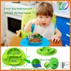 FDA&LFGB Custom Mushroom Silicone Magic Suction Palcemat Kid