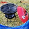 Cute Portable Outdoor Charcoal BBQ Grill Barbecue Tool