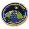 Retired National Geospatial-Intelligence Agency Hard Enamel Challenge Coin