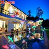 RGBW LED Light with 12 Slides for Outdoor and Indoor