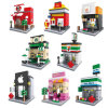 Plastic Magic Blocks Intelligent Kids Architecture Building Toys