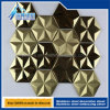 Stainless Steel Tiles Titanium Hexagonal Diamond Trim Panels
