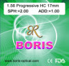 Progressive Cr39 1.56 Regular Corridor 17mm Hc Optical Lens