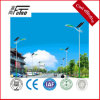 6m Solar Lamp Post in Steel Poles