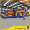 Hot Sale Amusement Park Inflatable Obstacle Course with Slide (AQ14180-1)