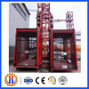 Construction Machinery/Equipment Sc200/200 Double Cage Passenger Hoist