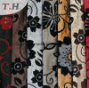 100% Polyester Flocked Fabric New Design