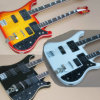Hanhai Double Neck Electric Guitar with 4+6 Strings (3 colors)