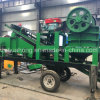 Hot Type Movable Rock Crushed Machine Crusher, Simple Stone Crushing Plant Jaw Crusher