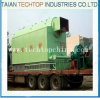 Wood Logs, Chips Fired Industry Steam Rice Husk Boiler Dzl1-35t/H