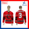 Healong Hot Sale Sublimation League Team Ice Hockey Jersey