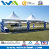 6X6m White Peak Top Canopy Marquee
