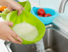 Plastic Colander Rice Bowl and Strainer