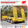High Quality Low Bed Trailer for Heavy Machinery Transportation