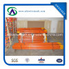 Orange T Post for Supporting Silt Fence