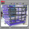 Warehouse Storage Logistic Metal Cage Steel Roll Container