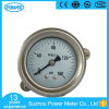 60mm Back Type All Stainless Steel Pressure Gauge with Clamp