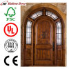 Solid Entrance Wood Door/Mahogany Timber Door/Mahogany Wooden Door for Villa