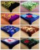 2014 New High Quality Korean Style Embossed Raschel Polyester Blanket