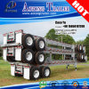 2 Axles 20ft Skeletal Frame Container Trailer Chassis for Sale