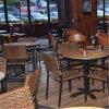 Metal Frame Rattan Chair Bistro Bar Furniture (SP-CS297)