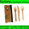 Prepackaged Wooden Disposable Cutlery Knife Fork Spoon Napkin