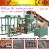 High Capacity Semi Automatic Qt4-20 Concrete Block Making Machine Price for Sale in Indian