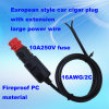 High Power 12V/24V Auto Extension DC Wire for Car Pump