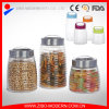 Wholesale Cheap Honey Customized Storage Glass Jar with Metal Lid