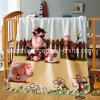 Double Four Seasons Blanket Coral Fleece Children Blanket