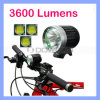 Waterproof CREE Xml T6 LED 3600 Lumens LED Bike Cycle Light
