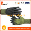 Ddsafety 2017 13G Hppe Black PU Coated Cut Resistant Glove