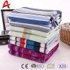 High Quality Custom Stripe Print Polar Fleece Blanket