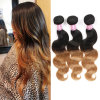 Brazilian Virgin Hair Body Wave Blond Hair Extension 100% Human Hair