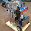 Good Quality Double Bucket Vacuum Pump Cow & Goat Milking Machine with Long Operation Life