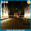 Hot Sale Party Decoration Printing Inflatable Pillars with LED Light for Sale
