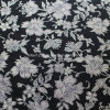 Cotton Plain Fabric for Apparels with Flower Printed (30X30/68X68)