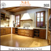Cherry Solid Wood Design Kitchen Cabinets with ISO9001
