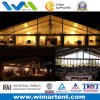 Clear-Span 25m Transparent Aluminum PVC Tent for Rest House