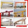 Single Girder (Semi) Gantry Crane (1t, 2t, 3t, 5t, 8t, 10t, 12.5t, 15t, 16t, 20t)