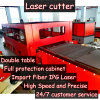 Fiber Laser Cutter Capable of 0.5-12mm Metal Sheets Clean and High Precise Cut