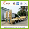 12m 3axle Lowbd Semitrailer with Hydraulic Ramp
