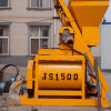 Concrete Machine/ Js1500 Double Horizontal Shaft Concrete Mixer