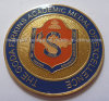 Customized Round 3D Gold-Plating Medallion