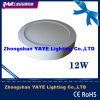 Yaye Competitive Price 12W Round Surface Mounted LED Panel Light with 2/3years Warranty